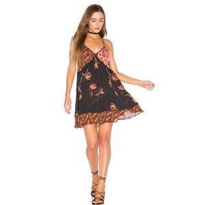 Free People Mixed Up Slip Dress